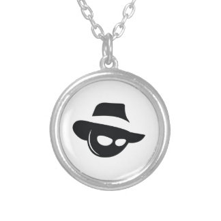 Shadow Mafia Silver Plated Necklace