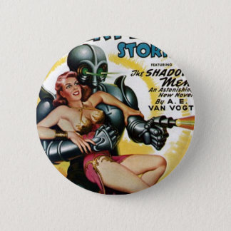 Shadow Men from Space 2 Inch Round Button