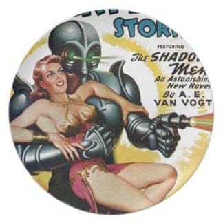 Shadow Men from Space Plate