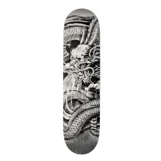 Shadow Ninja Platinum Dragon Element Pro Park Deck Skateboard Deck