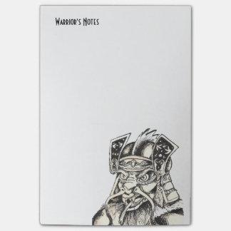 Shadow Of Samurai Post-it Notes