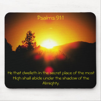Shadow of the Almighty - Psalms 91:1 Mouse Pad