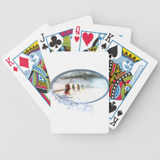 Shadow of the Owl on the Trail of Tears Bicycle Playing Cards