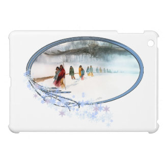 Shadow of the Owl on the Trail of Tears iPad Mini Cover