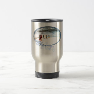 Shadow of the Owl on the Trail of Tears Travel Mug