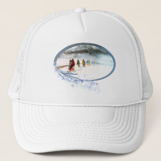 Shadow of the Owl on the Trail of Tears Trucker Hat