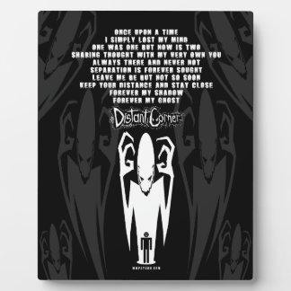 Shadow Poem Plaque