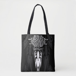 Shadow Poem Tote Bag