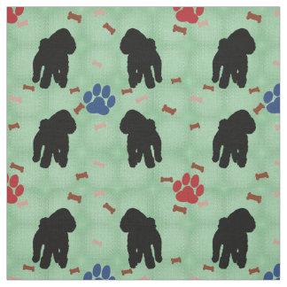 Shadow Poodle Fabric
