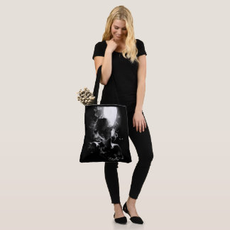 Shadow Portrait Tote Bag