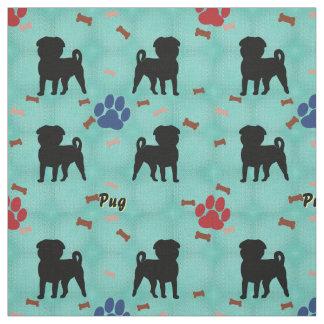 Shadow Pug Fabric