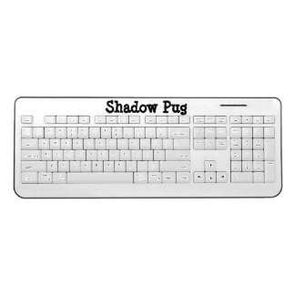 Shadow Pug Wireless Keyboard