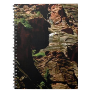 shadow shades of rocks notebook