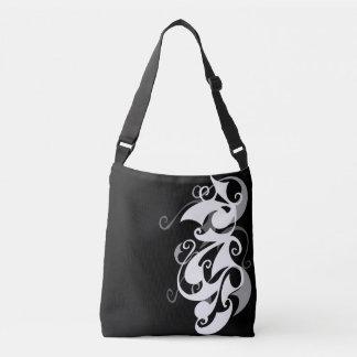 Shadow Swirl Cross Body Bag
