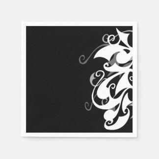 Shadow Swirl Napkin Paper Napkins