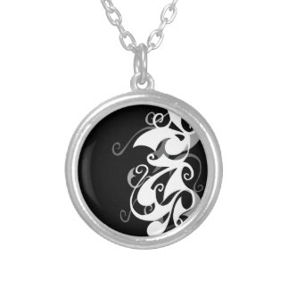 Shadow Swirl Necklace