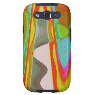 Shadow Talk - Acrylic Oriental Color Art Galaxy SIII Case