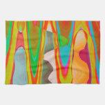 Shadow Talk - Acrylic Oriental Colour Art Kitchen Towels