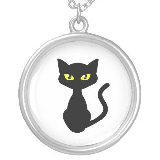 Shadow the Black Cat Necklace