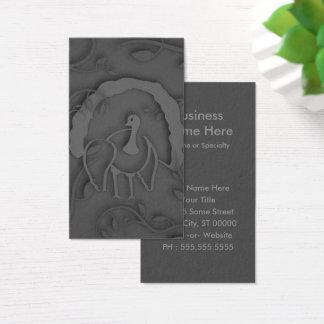 Shadow Turkey Noir Business Card