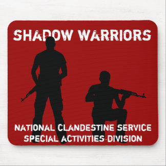 Shadow Warriors - CIA National Clandestine Service Mouse Pad