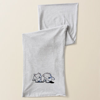 Shadowboxing Westies Scarf