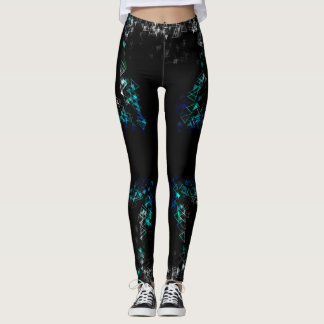 Shadowed Geometry Leggings