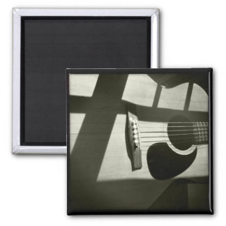 Shadowed Guitar Magnet