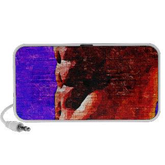 Shadowed Torso Travel Speaker