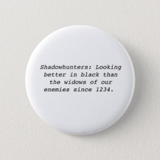 Shadowhunters 2 Inch Round Button