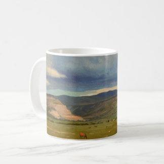 Shadows and Land Coffee Mug