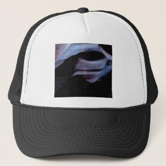 shadows in the rock wall trucker hat