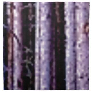 shadows of pole woods napkin
