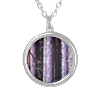 shadows of pole woods silver plated necklace