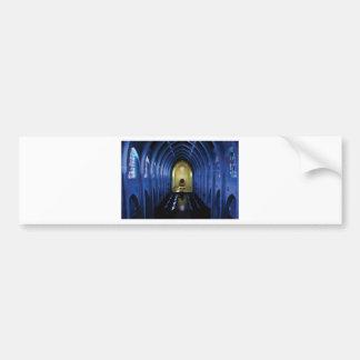 shadows of the dark blue church bumper sticker