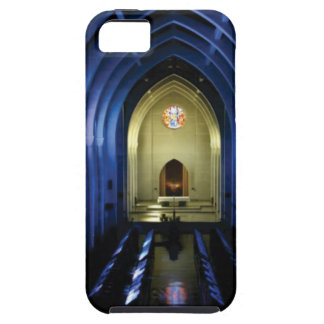 shadows of the dark blue church case for the iPhone 5