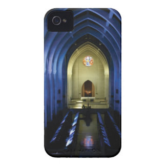 shadows of the dark blue church iPhone 4 case