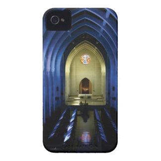 shadows of the dark blue church iPhone 4 covers