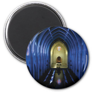 shadows of the dark blue church magnet