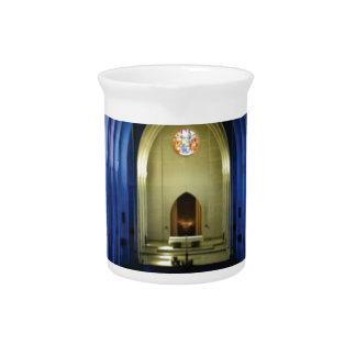 shadows of the dark blue church pitcher