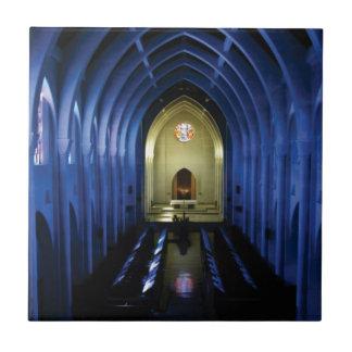 shadows of the dark blue church tile