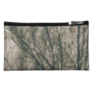 Shadows of Winter Foliage Makeup Bag