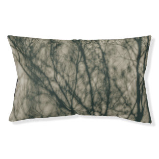 Shadows of Winter Foliage Pet Bed