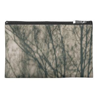 Shadows of Winter Foliage Travel Accessory Bag