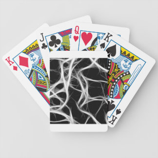 shadows of wires bicycle playing cards