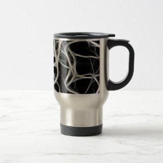 shadows of wires travel mug