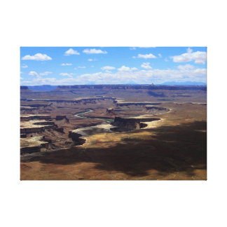 Shadows Over Canyonlands Canvas Print