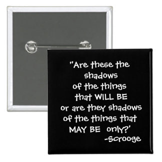 Shadows -The Scrooge Collection 2 Inch Square Button