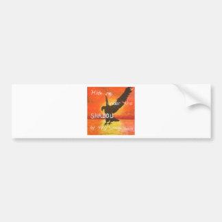 shadowwings bumper sticker
