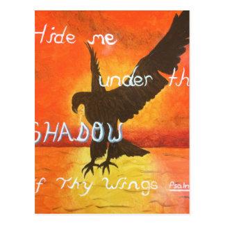 shadowwings postcard